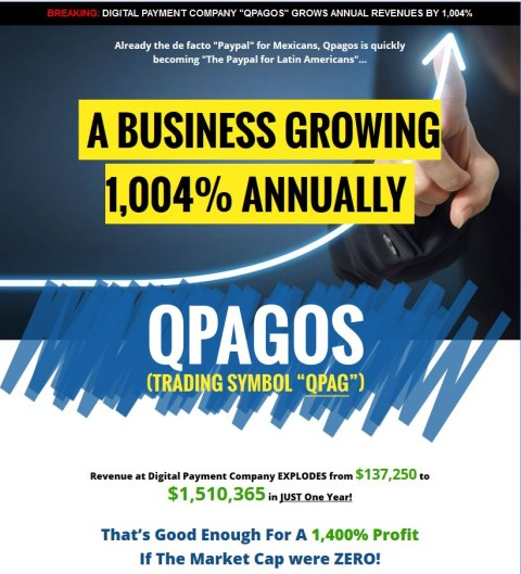 "QPAG – ""PayPal"" of Latin America IPO is a bargain as revenue skyrockets In First Year"